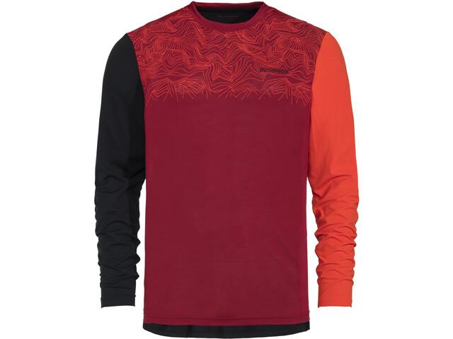VAUDE Moab IV LS Shirt Herren salsa